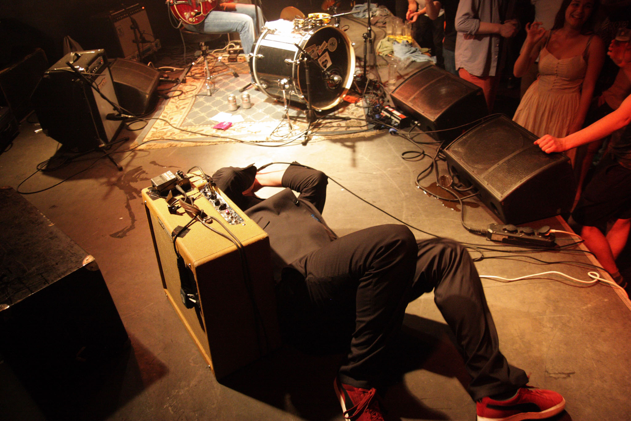 optreden The Pignose Willy's op het Klein New Orleans festival portfolio Wijgert-Jan van As