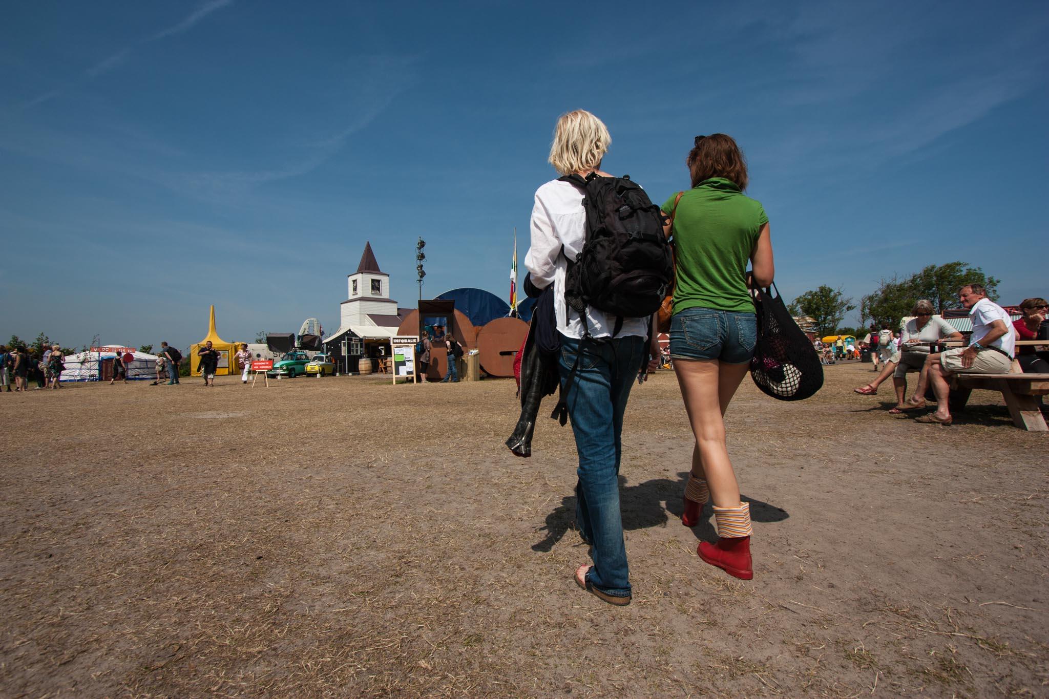 bezoekers Oerol festival portfolio Wijgert-Jan van As