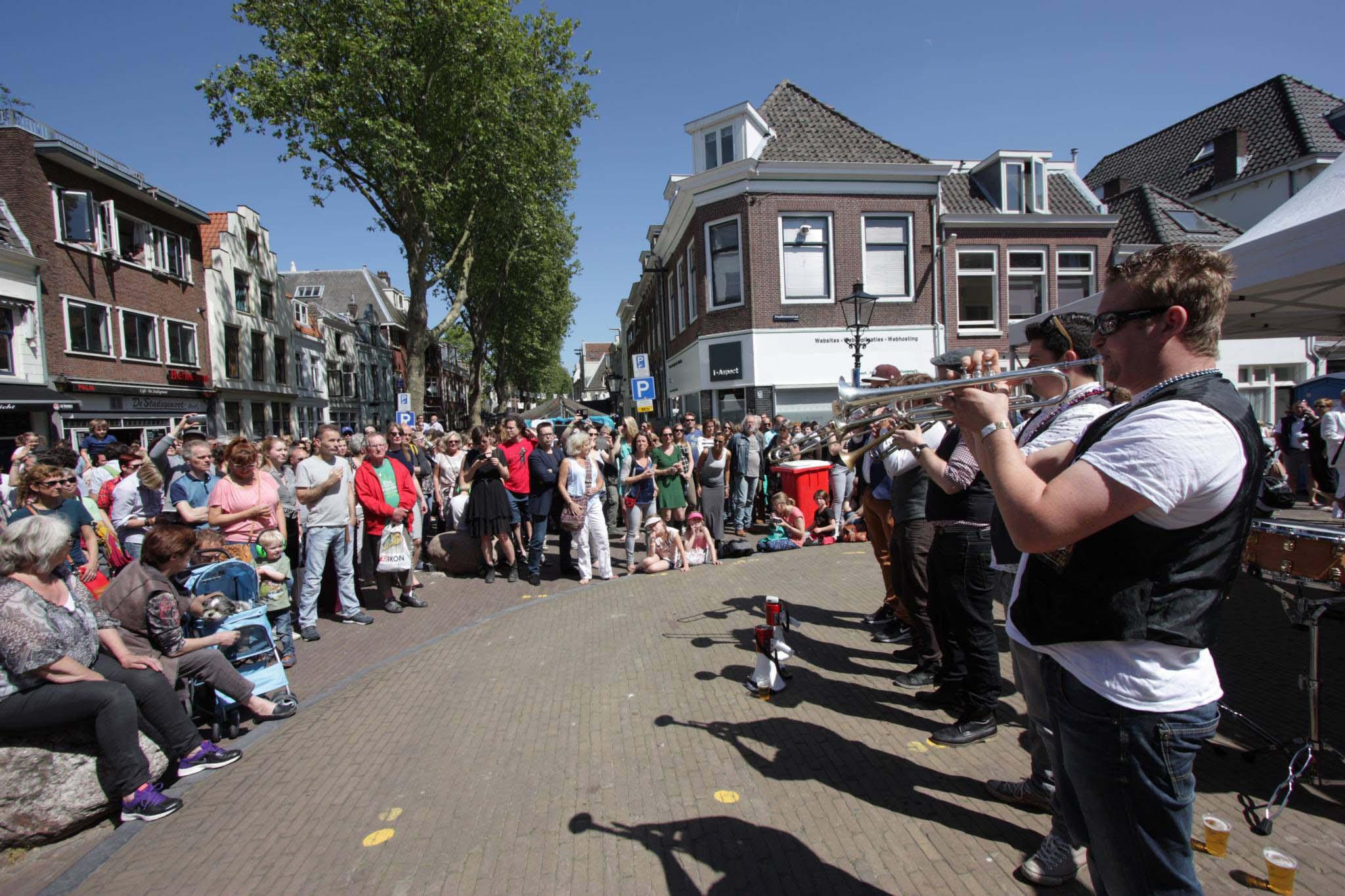 VPRO 3voor12/Utrecht Klein New Orleans Festival blazers