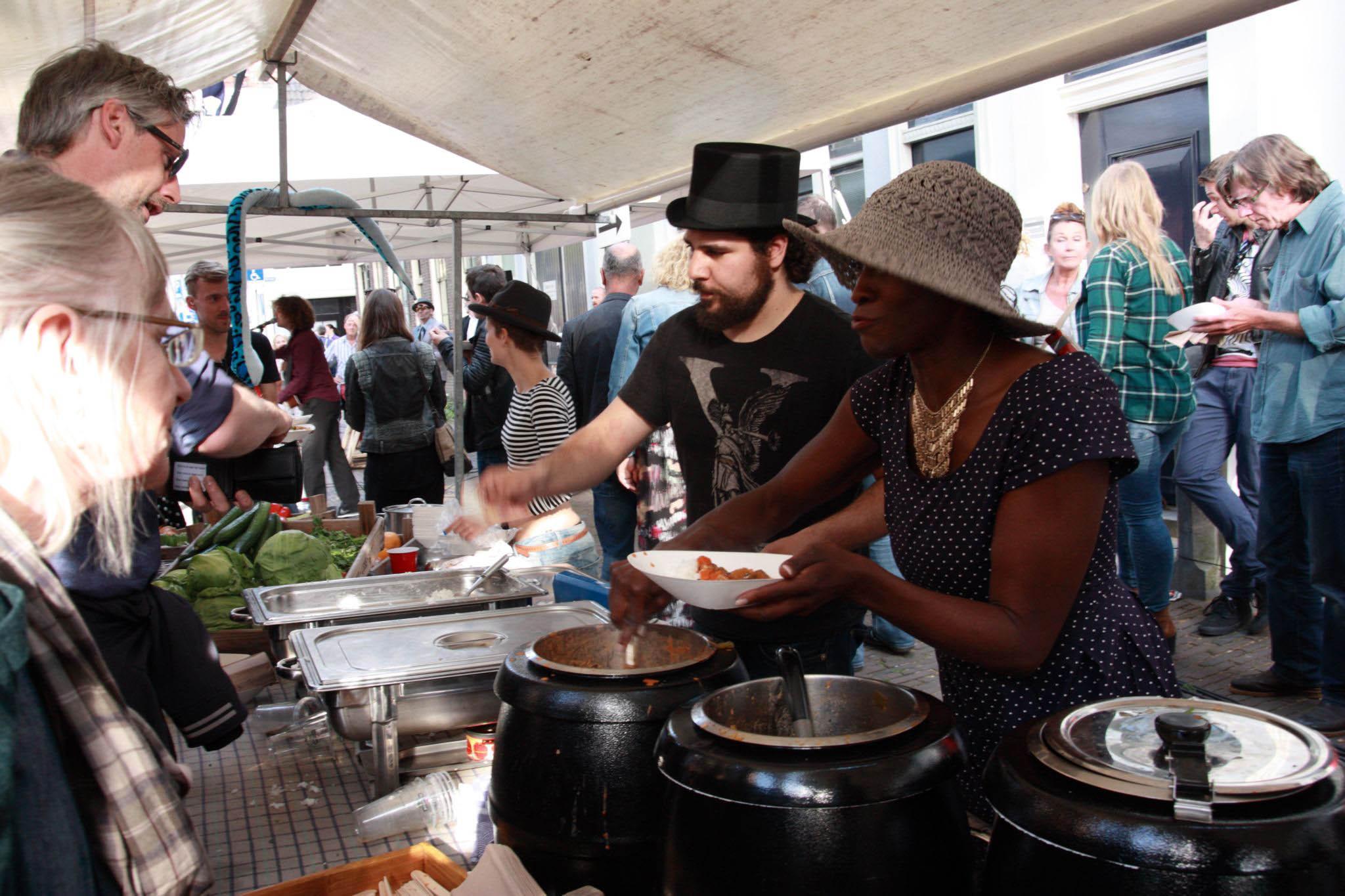 VPRO 3voor12/Utrecht Klein New Orleans Festival food