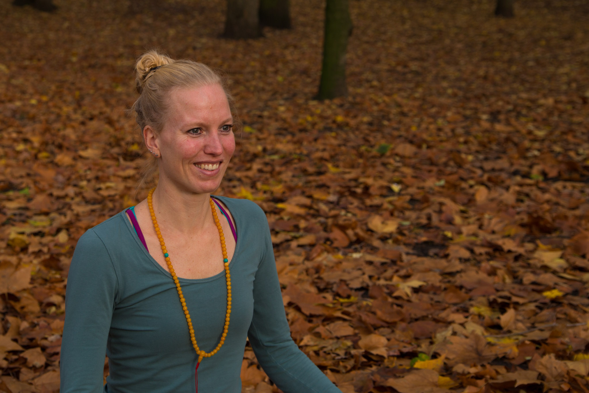 Yoga en Joy portretfoto Karina van Maren