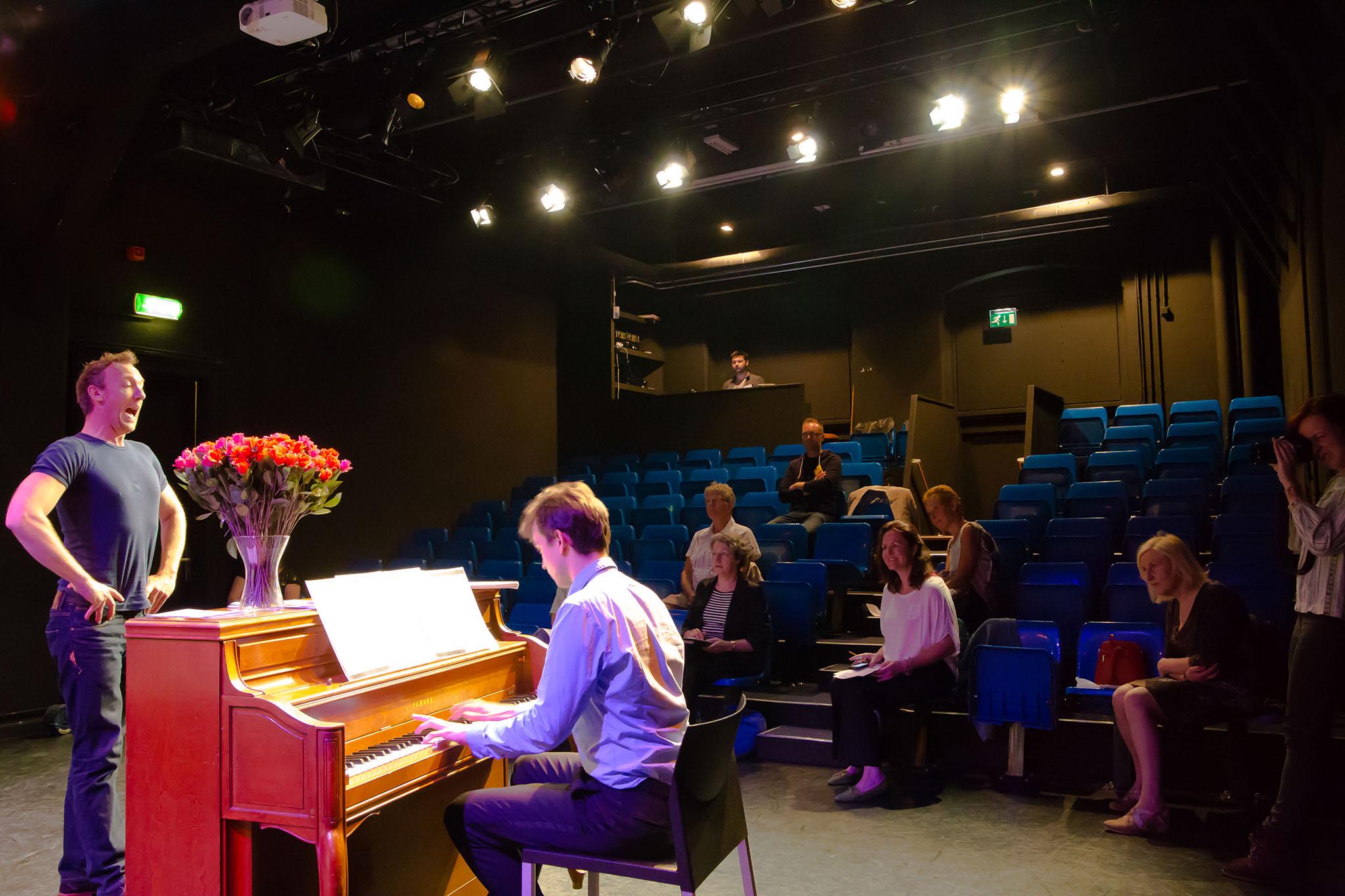 ZIMIHC theater bedrijfsfotografie Wittevrouwen podium