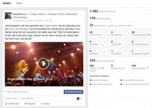 impact bereik video van band Orgel Vreten tijdens het Oerol festival 2014