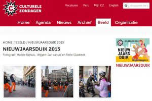 fotoreportage website Culturele Zondagen