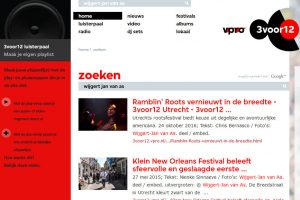 fotoreportages website VPRO 3voor12/Utrecht