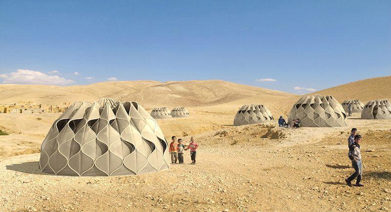 ontwerp tent door architect Abeer Seikaly