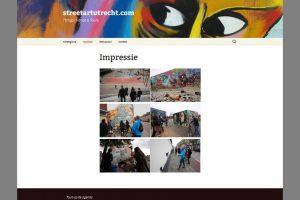 bedrijfsfotografie website Street Art Utrecht